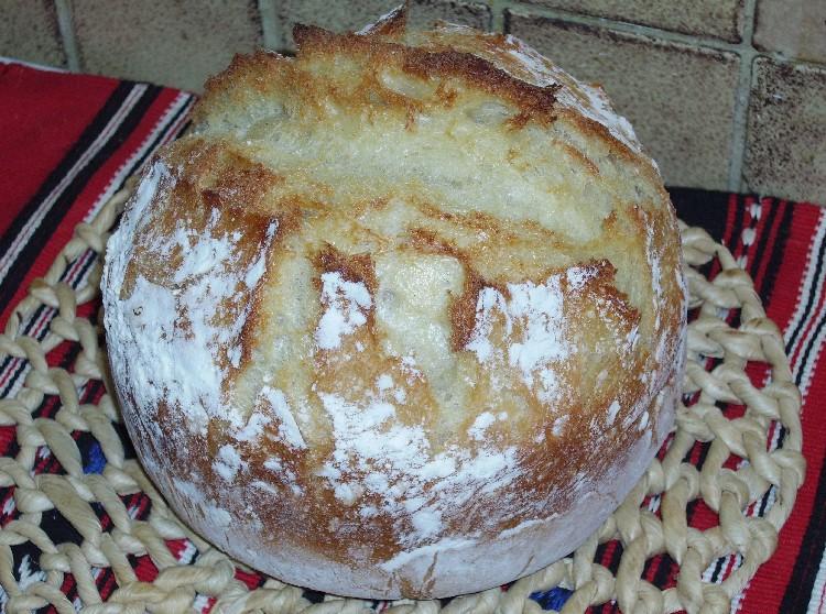 pain blanc sans petrissage aux lait et miel 2