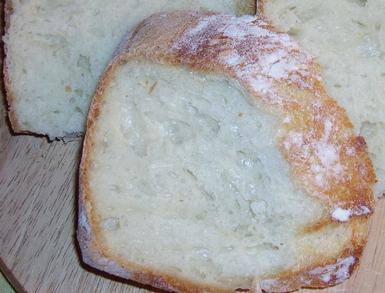 pain blanc sans petrissage aux lait et miel 5